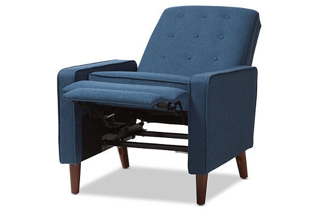 Mathias Recliner, Blue, large