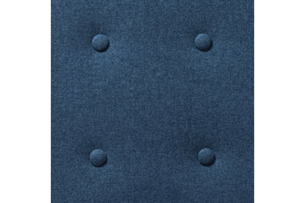 Mathias Recliner, Blue, large