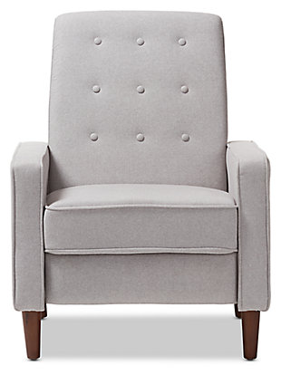 Mathias Recliner, Light Gray, large