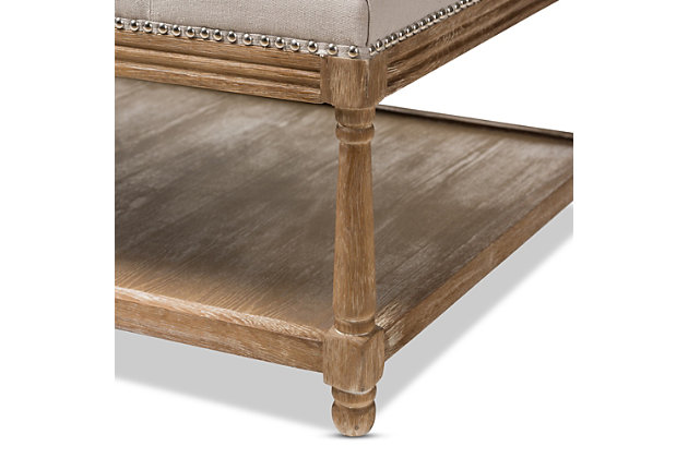Calotta Coffee Table Ottoman, , large