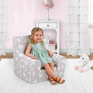 Toddler Classic Grab-n-go Unicorn Dreams Foam Chair, , rollover