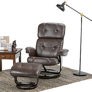 Ottoman Recliner with Ottoman, , rollover
