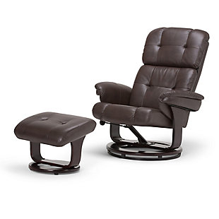 Ottoman Recliner with Ottoman, , large