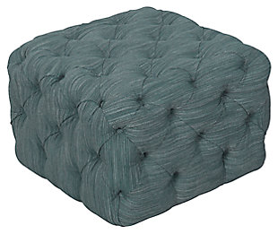 HomePop Medium Square All-Over Tufted Ottoman, , large