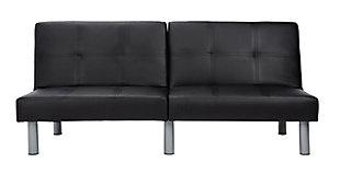 Safavieh Noho Foldable Futon Bed, Black, large