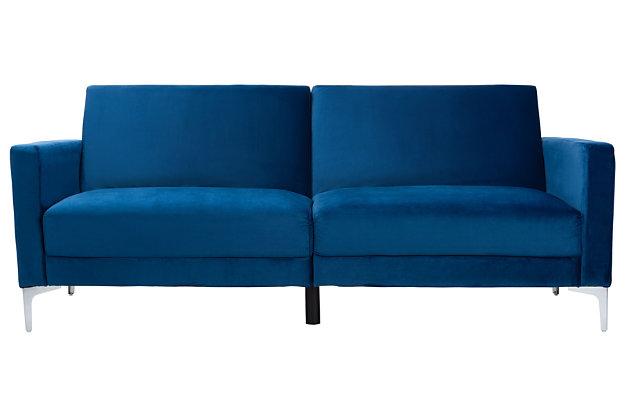 Safavieh Chelsea Foldable Futon Bed, Blue, large