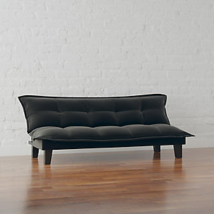 Atwater Living Atwater Living Zayn Black Futon, Black, rollover