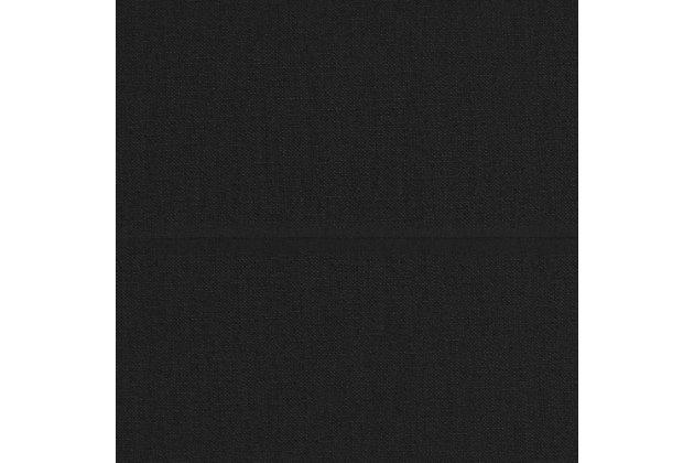 Atwater Living Atwater Living Lila Black Linen Futon, Black, large