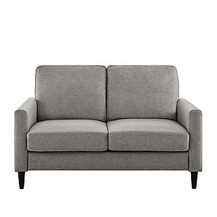 Atwater Living Atwater Living Regency Gray Linen Sofa Loveseat, , large