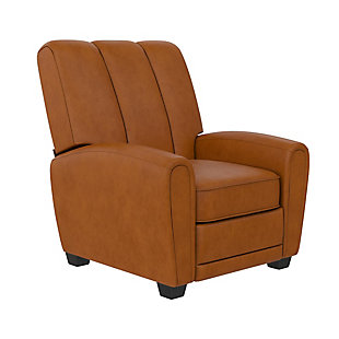 Atwater Living Vertical Pushback Recliner, Camel, large