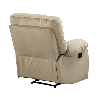 Dorel Living Sterling Sofa Recliner Chair, Beige, large