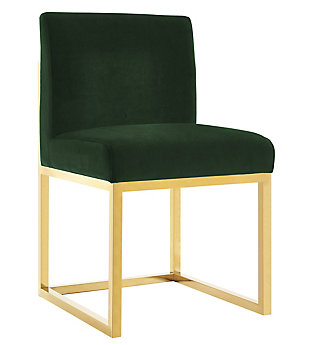 Haute  Velvet Chair, Green, large