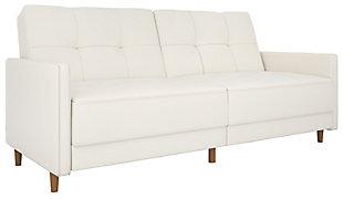 dhp andora coil futon     futons    bine style and versatility   ashley furniture homestore  rh   ashleyfurniturehomestore