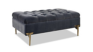 ACG Green Group, Inc. Upholstered Storage Bench Cocktail Ottoman, , large