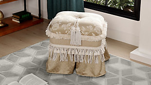 ACG Green Group, Inc. Traditional Decorative Ottoman, , rollover
