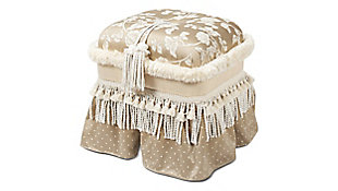 ACG Green Group, Inc. Traditional Decorative Ottoman, , large