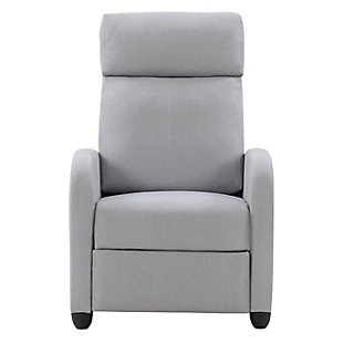 Lynwood Recliner Chair, Light Gray, large