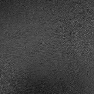 Kelsey Bonded Leather Recliner, Black, large