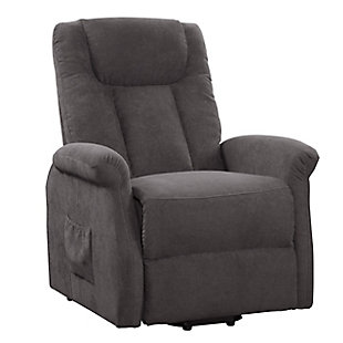 Arlington Power Lift and Rise Recliner, Gray, large