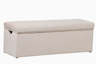 ACEssentials Cameron Lift Top Storage Bench, , large