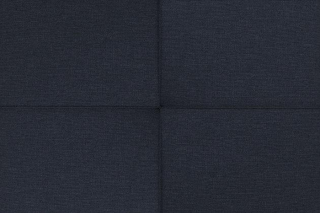 Andora Coil Futon, Navy, large