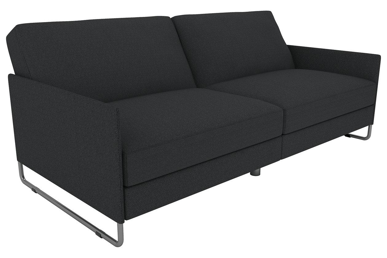 dhp pembroke convertible futon     futons    bine style and versatility   ashley furniture homestore  rh   ashleyfurniturehomestore