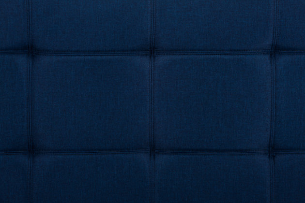 Layton Linen Futon, Navy, large