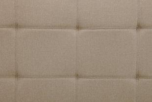 Layton Linen Futon, Tan, large