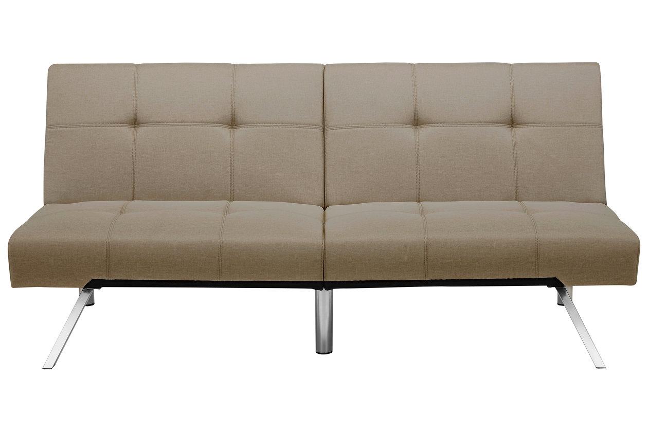 dhp layton linen futon     futons    bine style and versatility   ashley furniture homestore  rh   ashleyfurniturehomestore