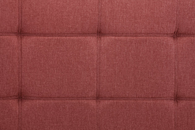 Layton Linen Futon, Burgundy, large