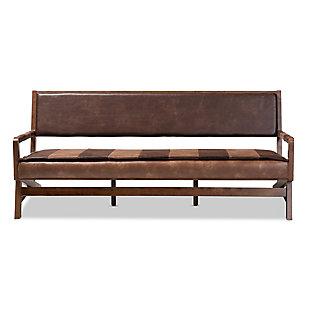 Baxton Studio Rustic Sofa, , large