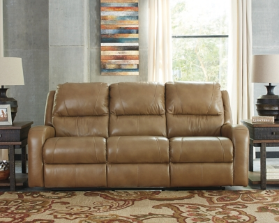 Reclining Sofa Blondie Leather Power Product Photo