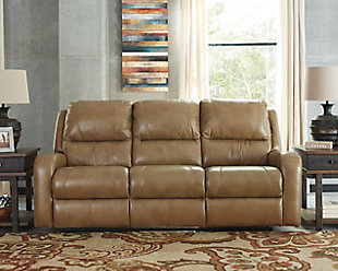 Roogan Power Reclining Sofa, , rollover