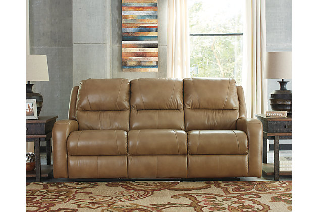 Roogan reclining sofa ashley furniture homestore for Furniture u save a lot