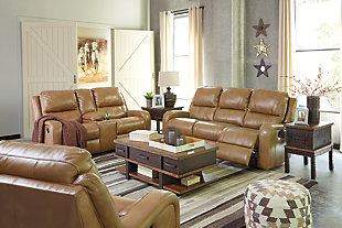Roogan Power Reclining Sofa, , large
