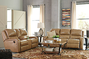 Roogan Power Reclining Loveseat with Console, , large