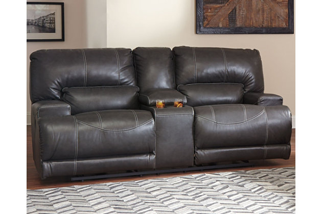 McCaskill Power Reclining Sofa, , Large ...