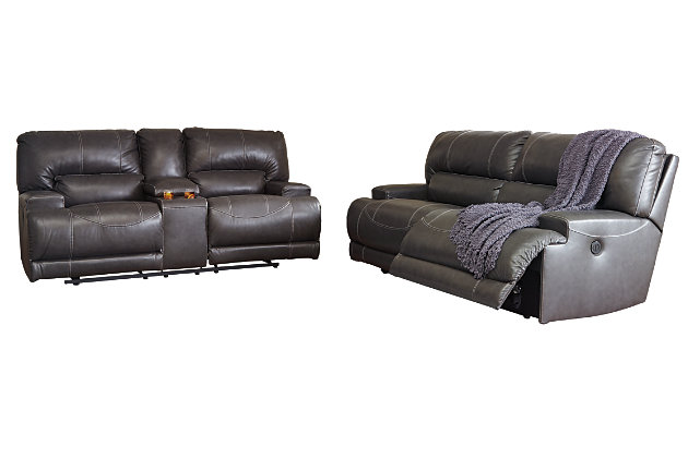 McCaskill Power Reclining Sofa, , large