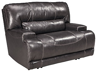Delicieux McCaskill Oversized Power Recliner, ...
