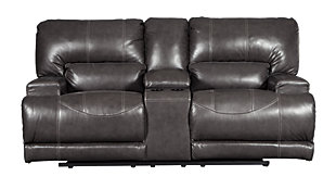 McCaskill Reclining Loveseat with Console, , large