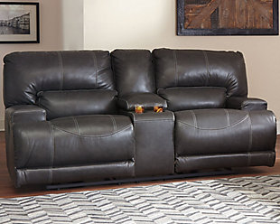 McCaskill Reclining Loveseat with Console, , rollover