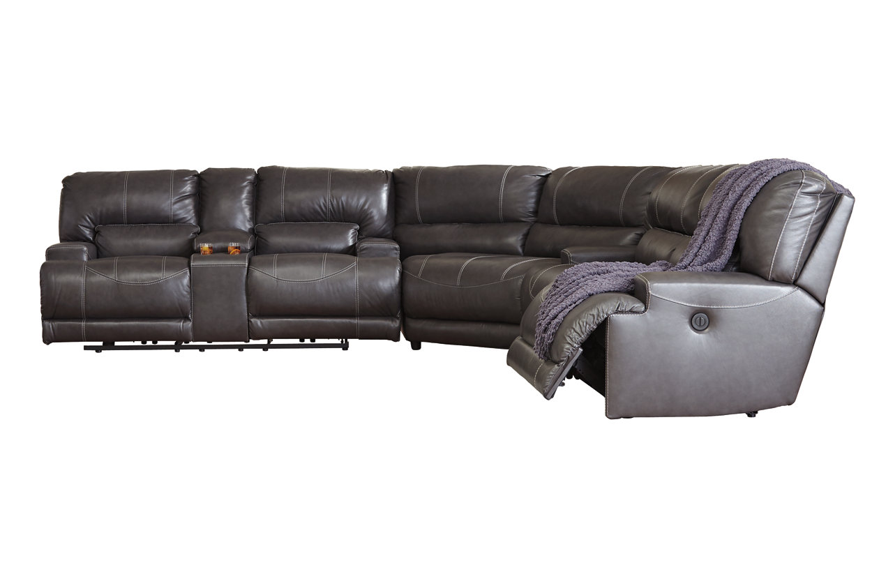 McCaskill 3-Piece Reclining Sectional | Ashley Furniture ...