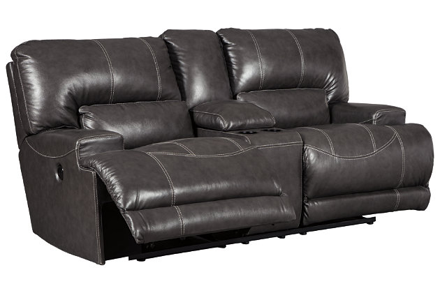 McCaskill Power Reclining Loveseat with Console, , large
