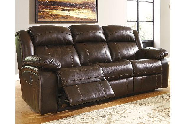 Antique Branton Reclining Sofa View 1 Part 76