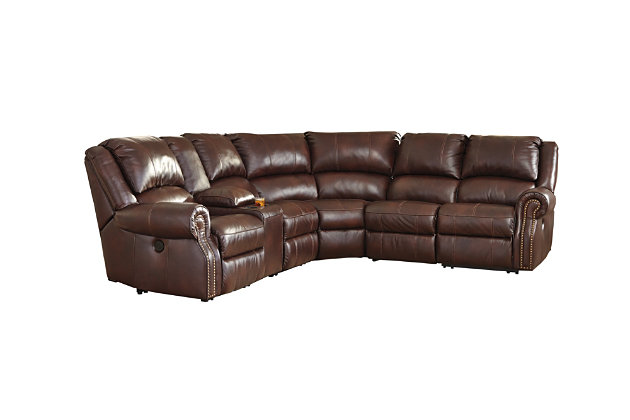 Collinsville 6-Piece Reclining Sectional with Power, , large