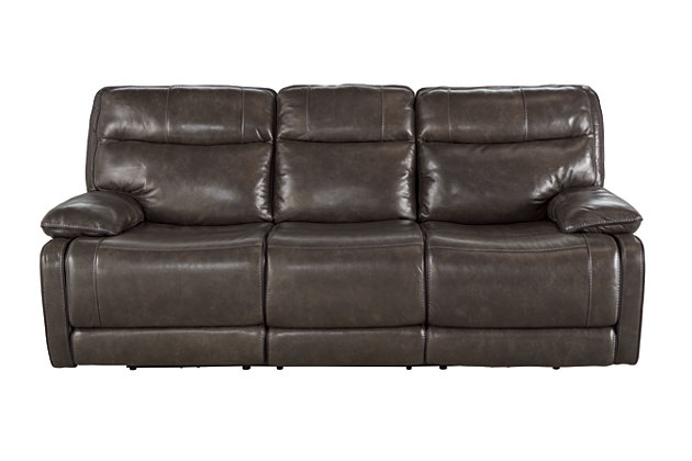 Palladum power reclining sofa ashley furniture homestore for Furniture u save a lot
