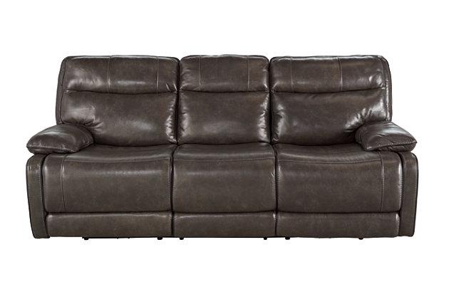 Furniture U Save A Lot Of Palladum Power Reclining Sofa Ashley Furniture Homestore