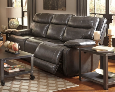 Sofa Metal Leather Reclining Product Photo 273