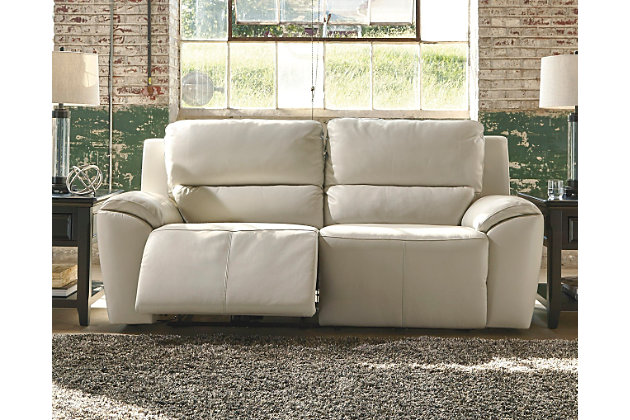 Living room decorating example with this furniture item - Valeton Reclining Sofa Ashley Furniture HomeStore