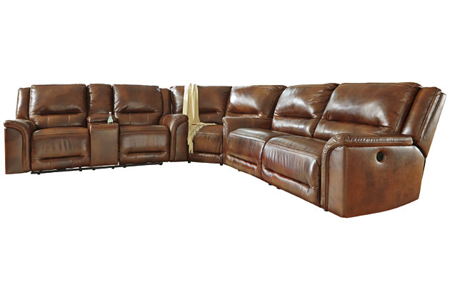 Jayron 3-Piece Sectional With Power, , large